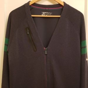Nike Sport Golf Dri-fit zip up cardigan size L